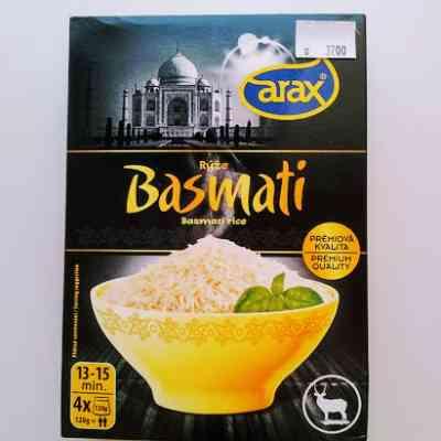 Rýže Basmati - varné sáčky 4 x 120 g