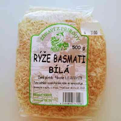 Rýže Basmati bílá
