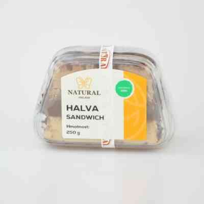 Chalva Izrael tříbarevná sendvič - 250 g