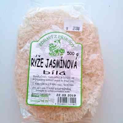 Rýže Jasmínová bílá