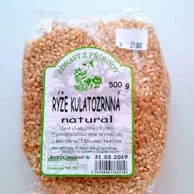 Rýže Kulatozrnná natural