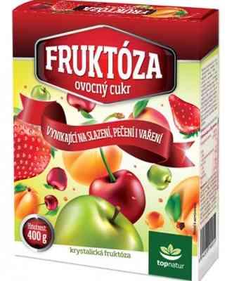 Ovocný cukr - fruktóza 400g