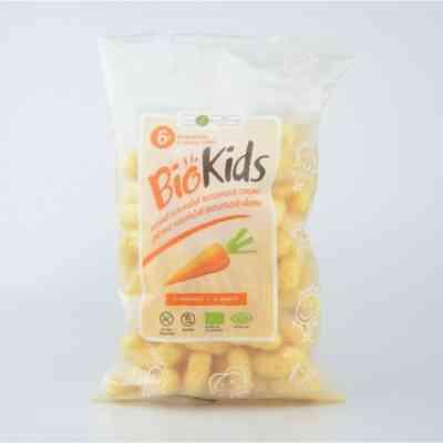 Dětské bezlepkové křupky s mrkví BIO
