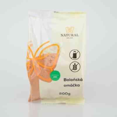 Boloňská omáčka bez lepku  -  Natural 200 g