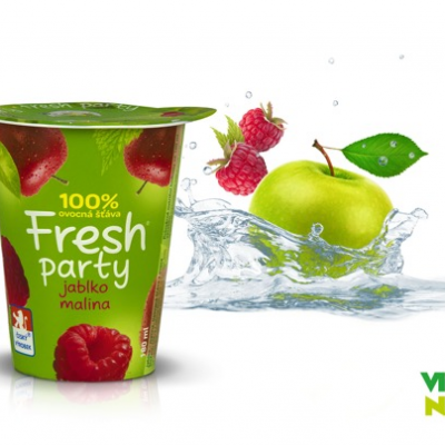 Fresh Party - Jablko a malina Vitaminátor