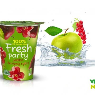 Fresh Party - Jablko a červený rybíz  Vitaminátor