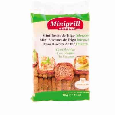 Pšeničné celozrnné minisuchary - Minigrill 90g