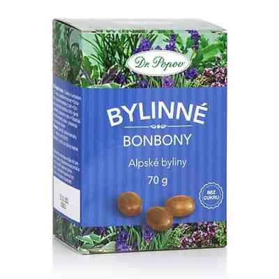 Bonbony Alpské byliny
