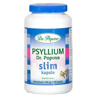 Psyllium Dr. Popova SLIM kapsle