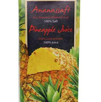 Ananasová šťáva WeserGold