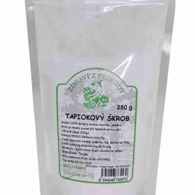 Tapiokový škrob (mouka)