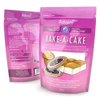 Bezlepková směs na (nejen) sladké pečení BAKE-A-CAKE