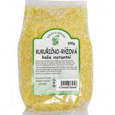 Kukuřično - rýžová kaše instantní 200g
