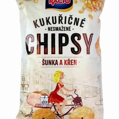 Chipsy Racio ŠUNKA A KŘEN 80g