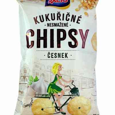 Chipsy Racio ČESNEK 80g