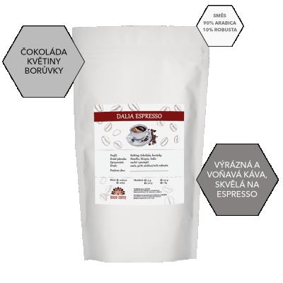 Zrnková káva DALIA ESPRESSO 250g