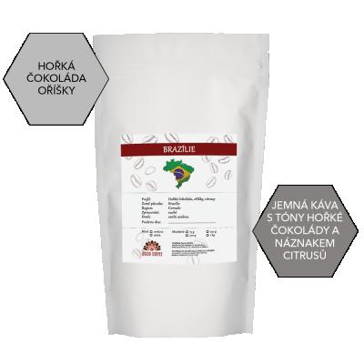 Zrnková káva BRAZÍLIE 250g