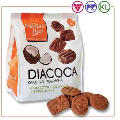DIACOCA sušenky kakaovo-kokosové