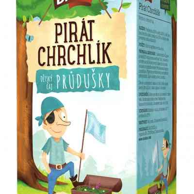 Čaj bylinný průdušky – Pirát Chrchlík