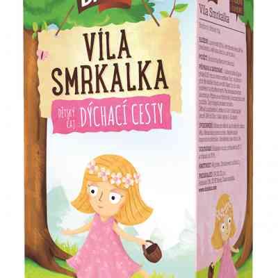 Čaj bylinný dýchací cesty –Víla Smrkalka