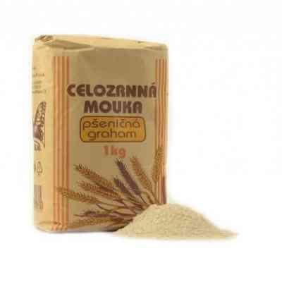 Celozrnná pšeničná graham